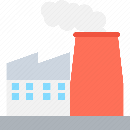 factory, industry, mill, power plant, production unit icon