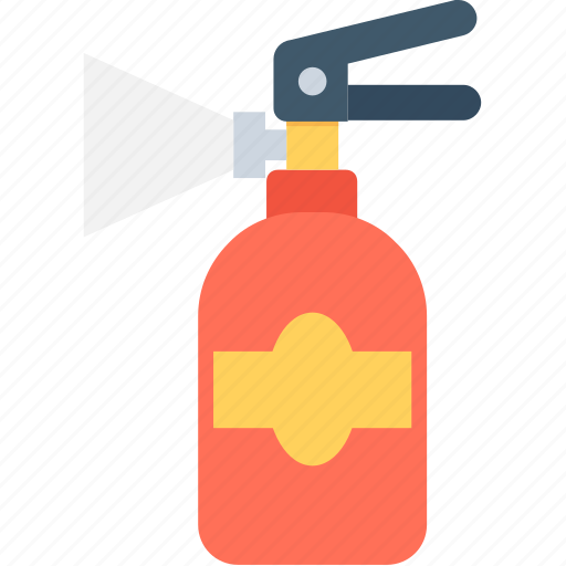 emergency, extinguisher, fire extinguisher, fire safety, security icon