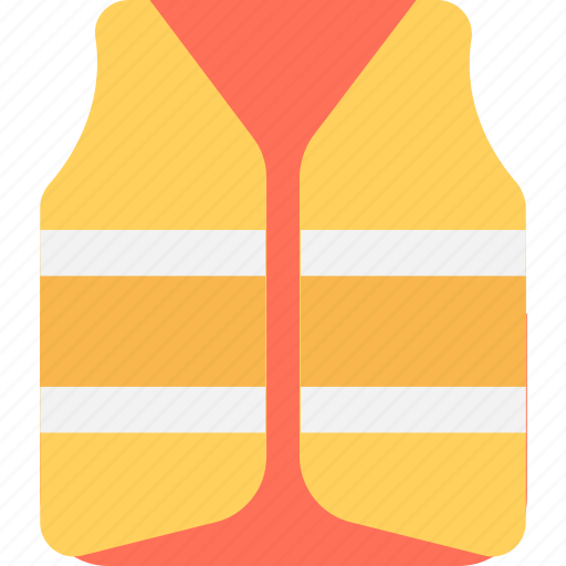 cork jacket, jacket, life vest, safety jacket, vest icon