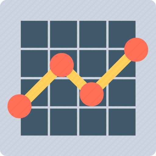 Analytics, chart, line graph, statistics, stock graph icon - Download on Iconfinder