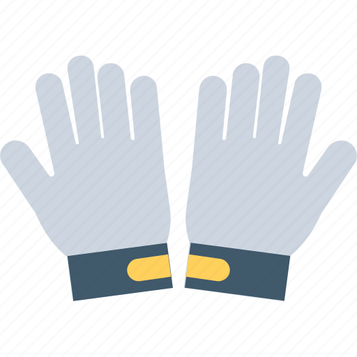 clothing, gloves, mittens, safety, work gloves icon