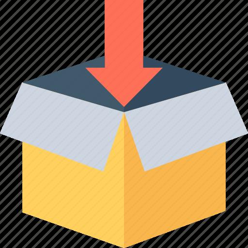 box, logistics, package, parcel, shipment icon