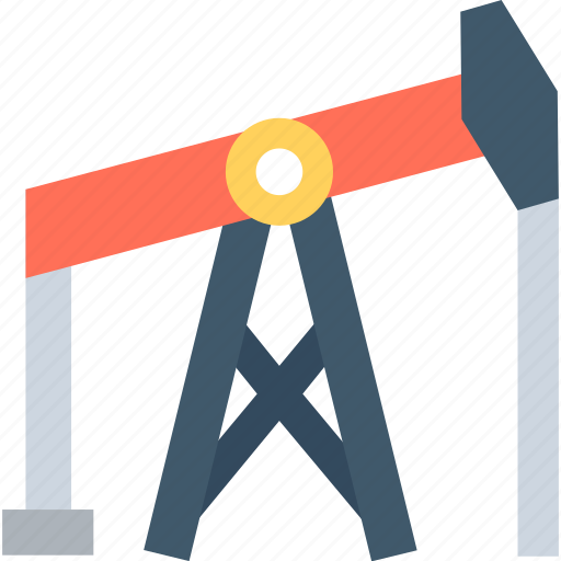 Donkey pumper, oil extraction, oil horse, oil pumpjack, pumpjack icon - Download on Iconfinder