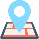 gps, location, location pin, map, map pin icon