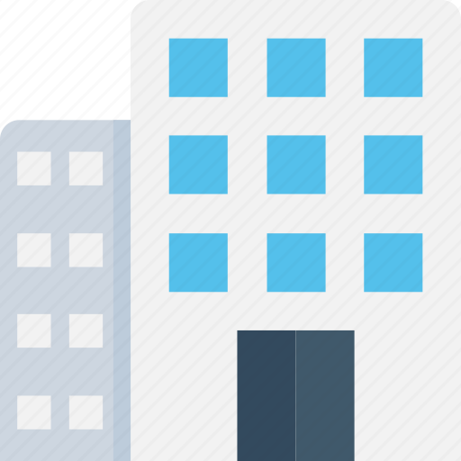 apartments, architecture, building, flats, hotel icon