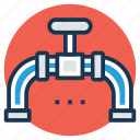 gas pipeline, gas station, pipeline, pipeline valve, plumbing icon