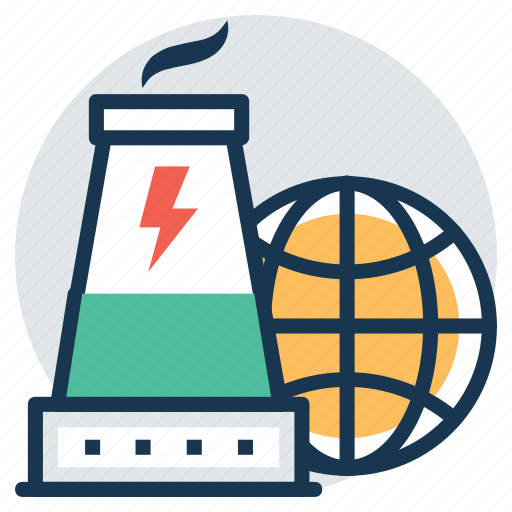 global nuclear energy, international atomic, international nuclear power plant, world atomic power, world nuclear icon