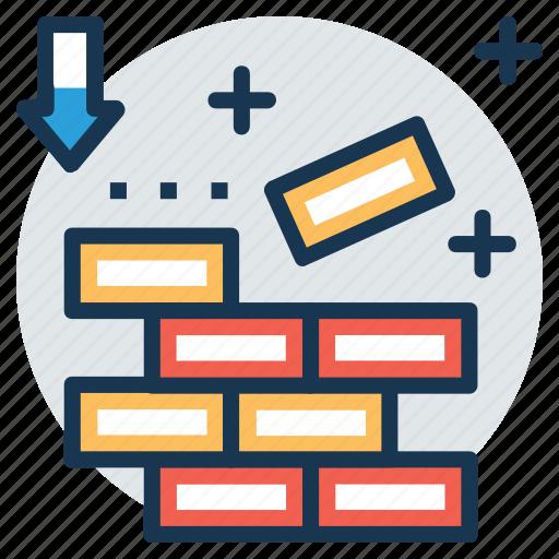 Brick texture, brick wall, bricklayer, brickwork, masonry icon - Download on Iconfinder