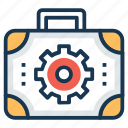 repair kit, repairing, tackle box, toolbox, toolkit icon