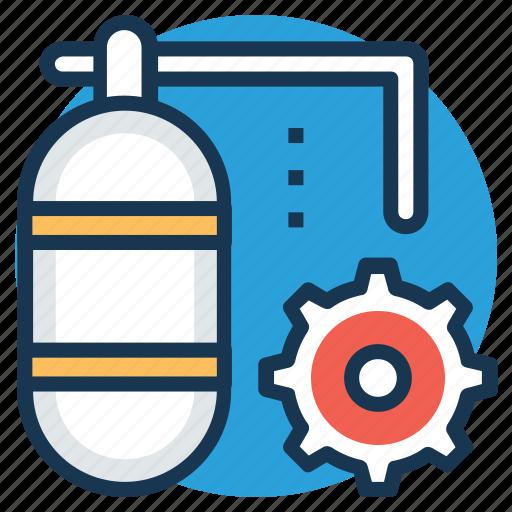 chemical spray foam, construction equipment, construction foam, polyurethane spray foam, spray foam icon