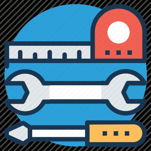 construction tools, garage tools, hand tools, tools, workshop icon