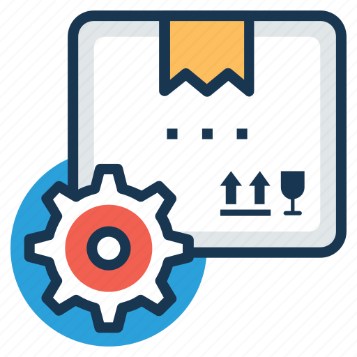 inventory control, manufacturing, retail store, supply, warehouse icon