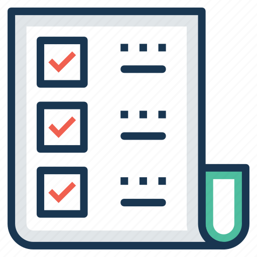checklist, list item, task list, work management, work plan icon