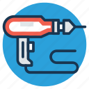construction equipment, drill machine, drilling, electric drill machine, power hand drill