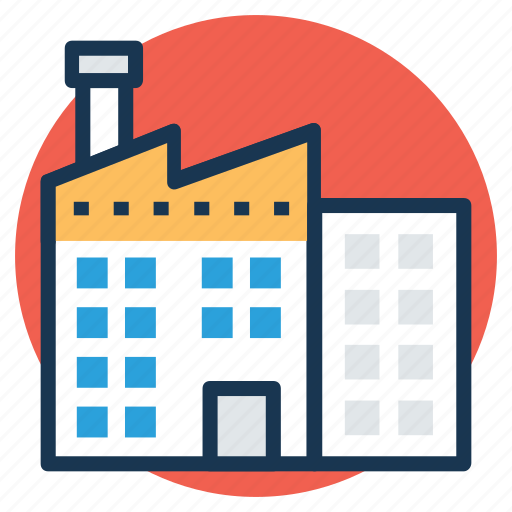factory, industry, manufacturer, mill, power plant icon