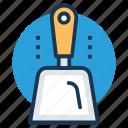 beach spade, hand tool, plastic shovel, plastic spade, shaft spade icon