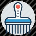 farming tool, gardening tool, ground cultivator, hand tool, rake icon