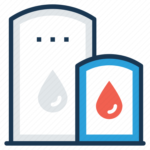 Chemical storage, liquid containers, refinery, storage tank, water storage tank icon - Download on Iconfinder