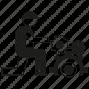 contractor, engineer, gear, manufacturing, service, technician, worker