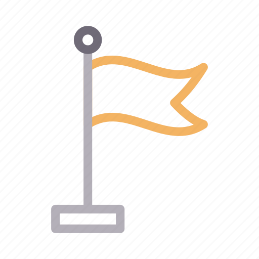 Construction, flag, goal, sign, waving icon - Download on Iconfinder