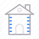 apartment, building, construction, home, house icon