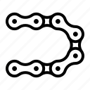 chain, equipment, industrial, mechanical, roller icon