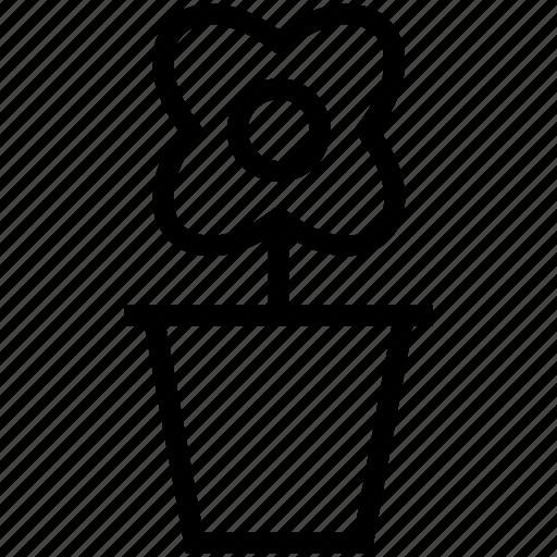 flower, garden, gardening, plant, pot, vase icon