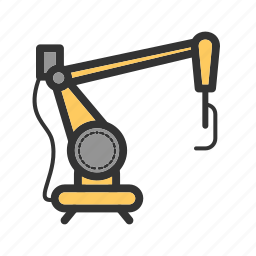 automation, industrial, industry, machine, manufacturing, robot, technology icon
