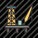 industrial, energy, gas, platform, oil, fuel, industry
