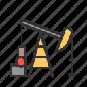 field, industry, oil, petroleum, pump, pumpjack, well