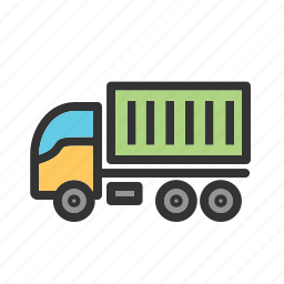 business, delivery, industry, speed, transport, transportation, truck icon