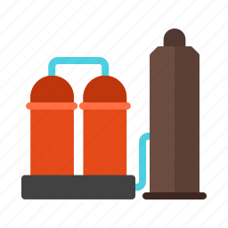 chemical, gas, industry, manufacturing, oil, plant, refinery icon