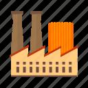 building, concrete, factory, industrial, plant, structure, work