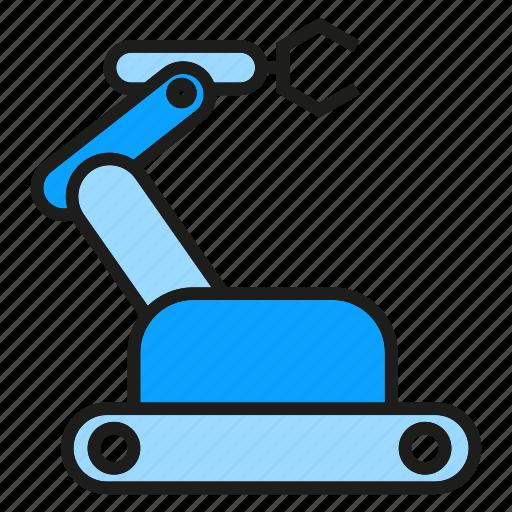 android, automation, cyborg, rescue robot, robot, robotics, toy icon