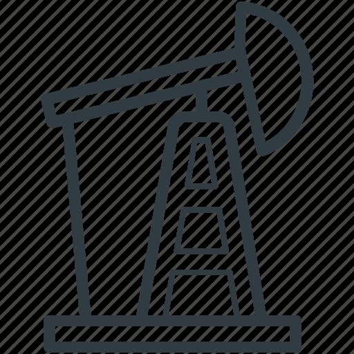 oil pumpjack, oil well pumpjack, oilfield, pumpjack, refinery icon