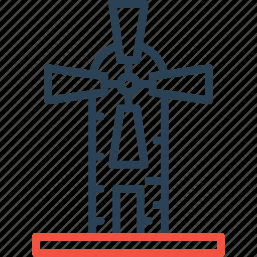 ecology, energy, generator, windmill, windturbine icon