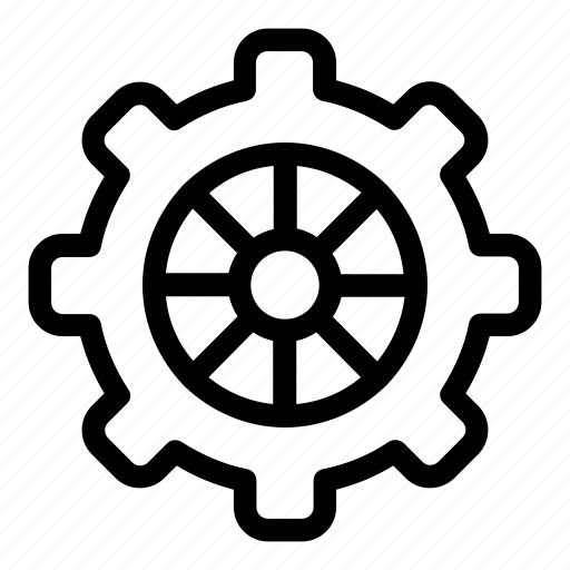 Cogwheel, configuration, construction and tools, gear, settings icon - Download on Iconfinder