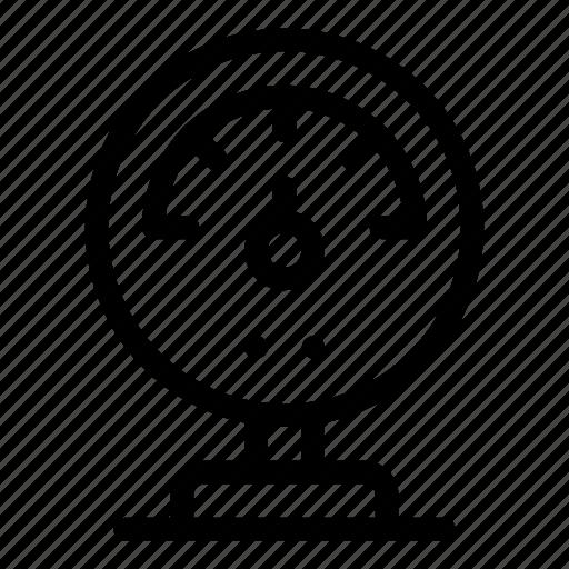 Electronics, gauge, indicator, industry, manometer, measurement, temperature icon - Download on Iconfinder