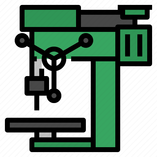 Drill, drilling, machine, tool icon - Download on Iconfinder