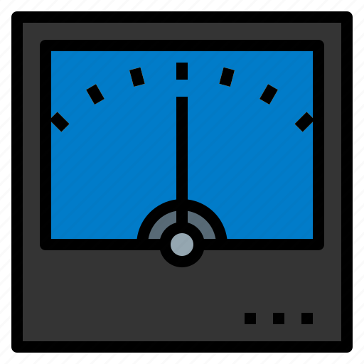 electricity, mature, meter, tool icon