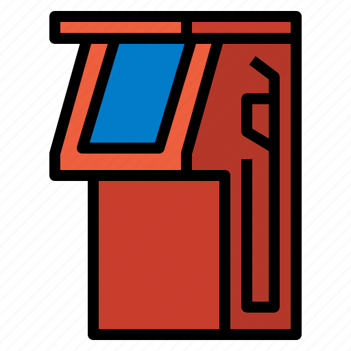 fuel, gas, power, station icon
