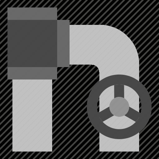 burst, pipe, valve, watera icon