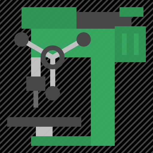 drill, drilling, machine, tool icon