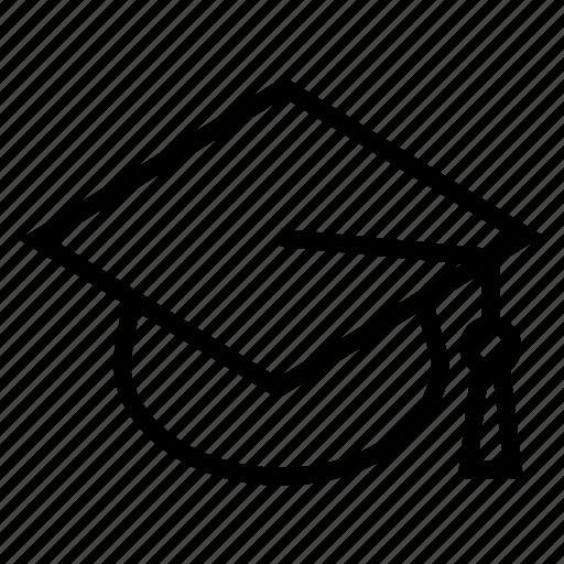 college, education, graduate, graduation, learning, student, university icon