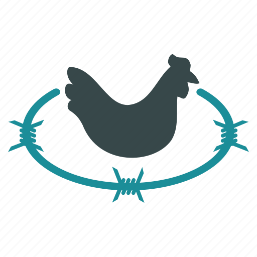 agriculture, chicken, cock, fabric, farm, hen, rooster icon