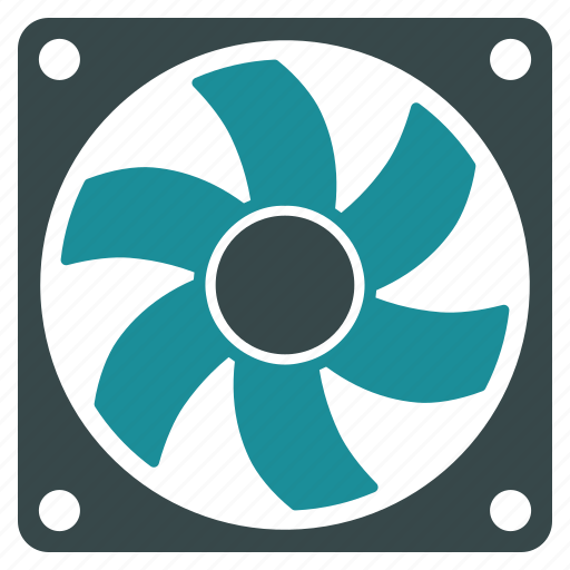air, computer fan, conditioner, motor, rotate, rotor icon
