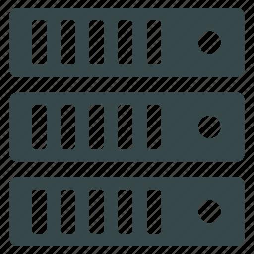 data, database, hardware, host, hosting, server, storage icon