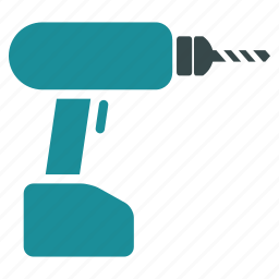 drill, equipment, hardware, hole gun, industry, instrument, perforator icon