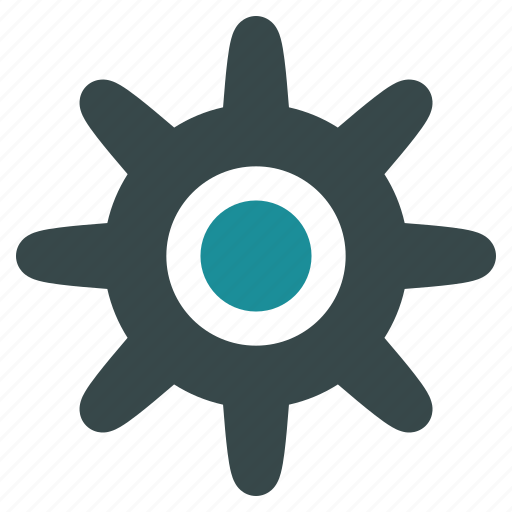 cog, cogwheel, gear, industrial, machinery, pinion, wheel icon