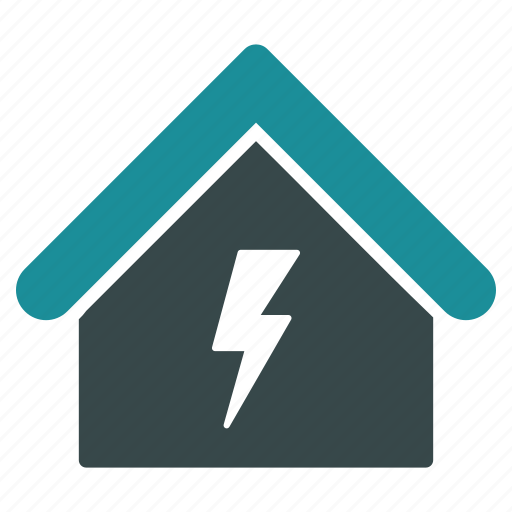electric, electricity, energy, industry, plant, power, station icon